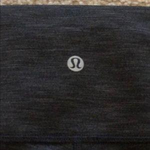 WORN ONCE LULULEMON CHARCOAL GRAY LEGGINGS - SZ 10